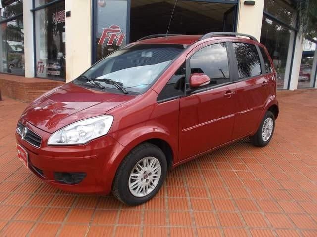 Fiat idea attractive 1 4 marron 2011 for Fiat idea attractive top